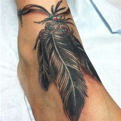 tattoo feather native american 10 neat native american ankle tattoos