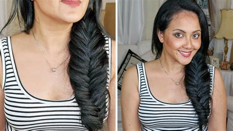 Hairstyles With Clip In Hair Extensions by How To Fishtail Braid With Clip In Hair Extensions