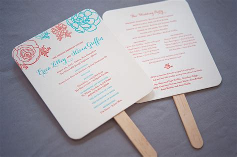 Wedding Ceremony Fans by Wedding Ceremony Programs Fans Www Pixshark Images