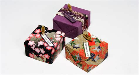 japanese gift mini gift wrapped music boxes
