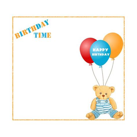 Link Time Fabsugar Want Need 58 by Free Birthday Borders For Invitations And Other Birthday