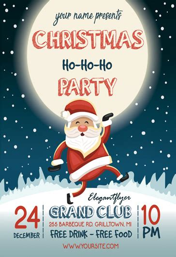 christmas flyer templates free free christmas flyer template yourweek 69411deca25e