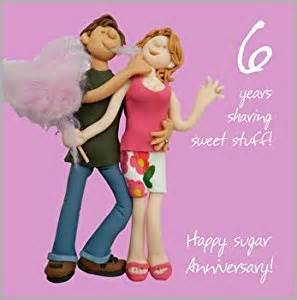 6th wedding anniversary card co uk kitchen home