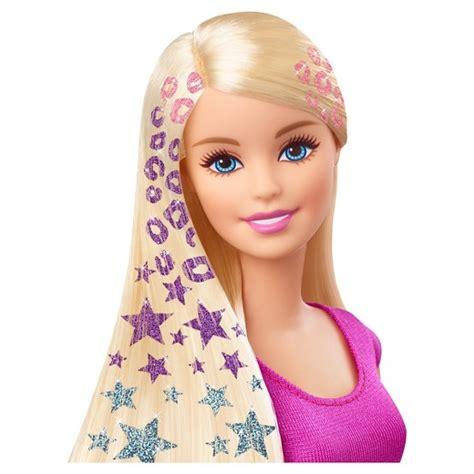poppy hairstyle doll glitter hair design doll target