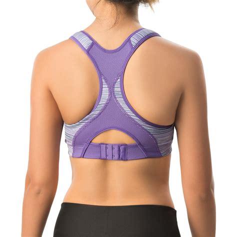 rebound racer bra by moving comfort moving comfort rebound racer sports bra for women save 50