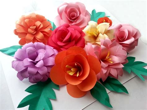 Show How To Make Paper Flowers - diy paper flowers fingers