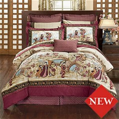 asian themed bedding amazon com japanese design style bedding geisha bed in bag set w comforter