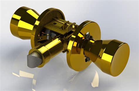 chrysovision designs door knob assembly