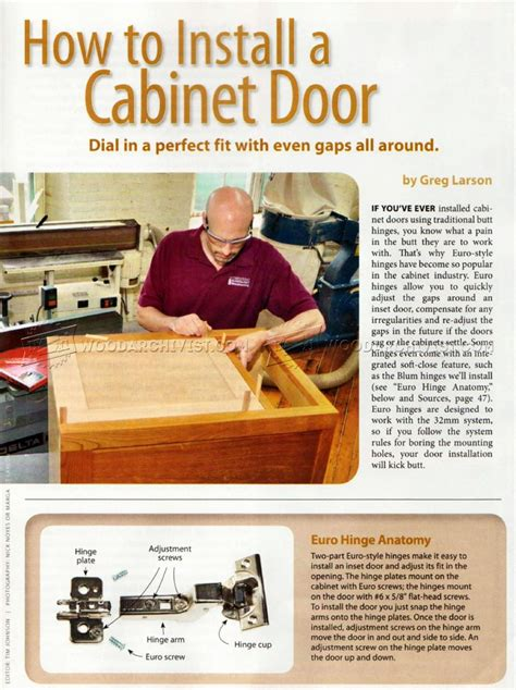how to fix cabinet door panel how to install cabinet doors woodarchivist