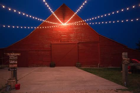 Construction Of A Brand New Barn Wedding Venue In North