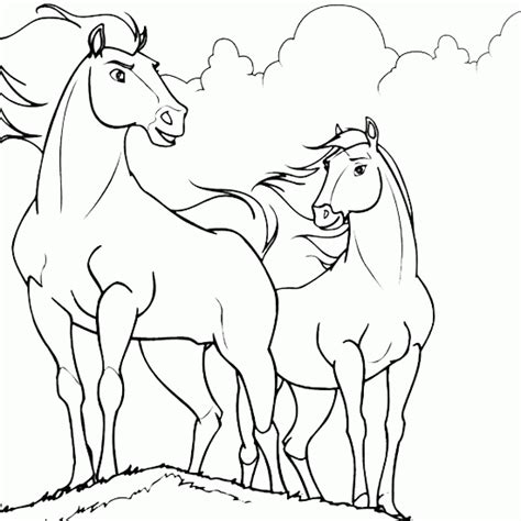 Animals Coloring Horse Drawing Animals Coloring Drawing Coloring Pages