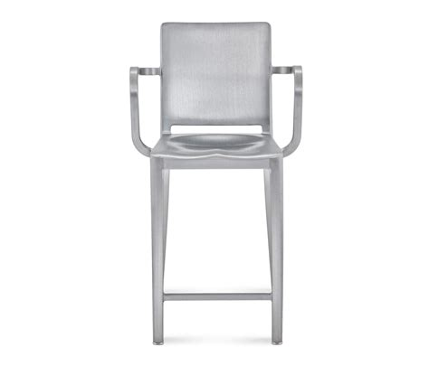 emeco bar stools hudson counter stool with arms bar stools from emeco