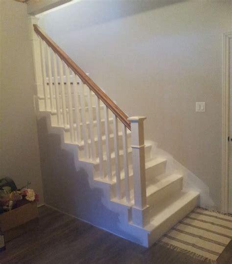 agréable Idee Salle De Bain Bois #10: rampe-escalier-sous-sol-12.jpg