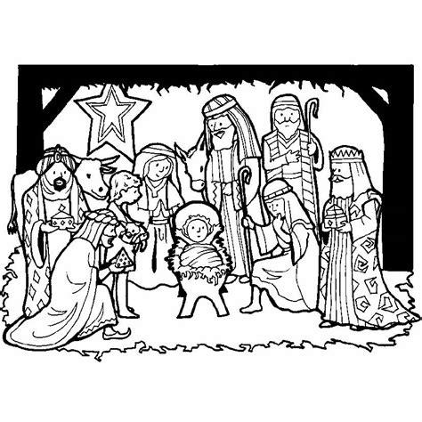 ver imagenes del nacimiento de jesus para colorear compartiendo por amor dibujos reyes magos