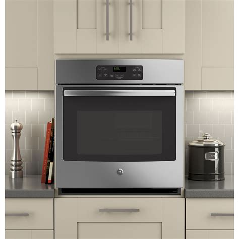 build wall oven jk1000sfss ge 27 quot built in single wall oven
