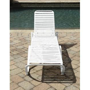 grand resort aluminum pvc strap lounge limited