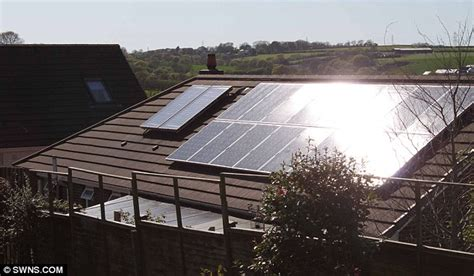 do solar panels reflect light it s like living in a tanning salon family s agony