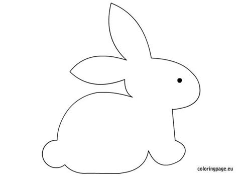 easter bunny craft template bunny craft template easter coloring