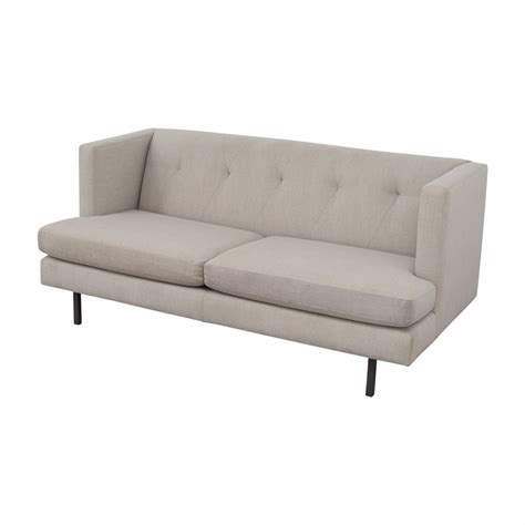 cb2 loveseat 75 off cb2 cb2 avec apartment sofa sofas