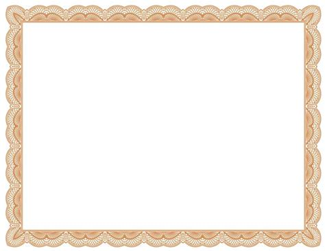 free printable certificate border templates certificate border template free certificate234