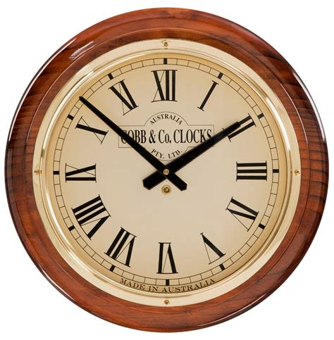 wall clock large wall clocks cobb co usa