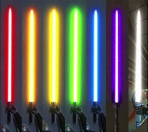 what color lightsaber wars all lightsaber colors and meanings duck sauce