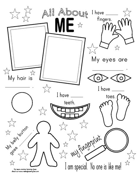 Free Coloring Pages Of Sensory Organs Five Senses Coloring Page