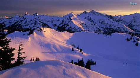 snowy mountains wallpaper    images