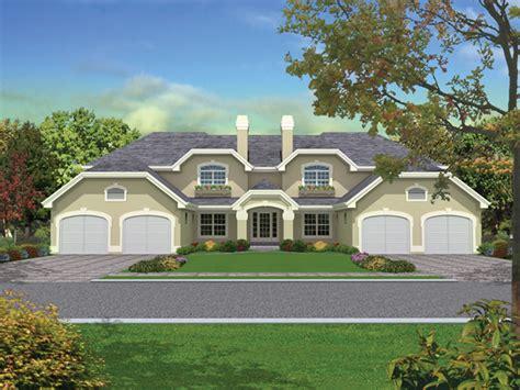 pasadena fourplex multi family plan 007d 0022 house