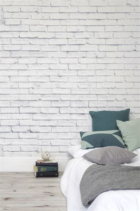 white brick wallpaper bedroom 25 best ideas about brick wallpaper on pinterest wall