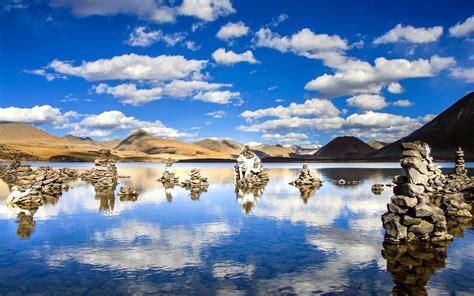 wallpaper sijinlacuo lake tibet  uhd  picture