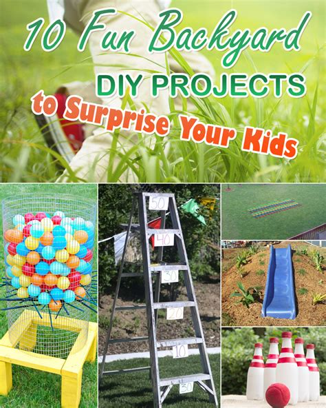 diy projects for kids 10 fun backyard diy projects to surprise your kids