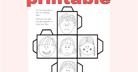printable feelings dice freebie my feeling dice printable teaching pbis