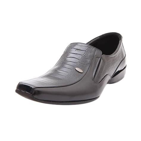 Leogaren Sepatu Formal Hitam 1101 jual leogaren 1123 hitam sepatu formal pria harga