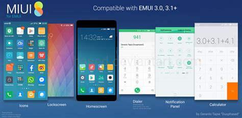 huawei themes deviantart miui 8 theme for emui by duophased on deviantart
