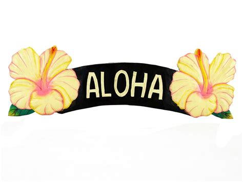 Home Decor Rugs by Aloha Yellow Hibiscus Sign