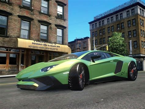 Gta 4 Cheats For Lamborghini Gta 4 Dtd Lamborghini Aventador Sv Mod Gtainside