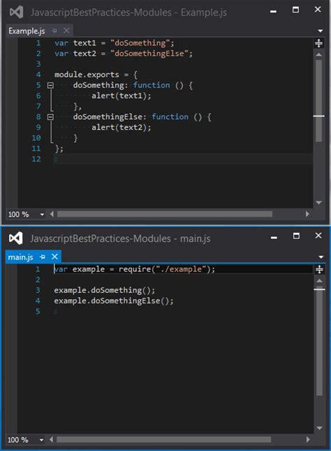 js pattern amd javascript best practices modules exsilio blog