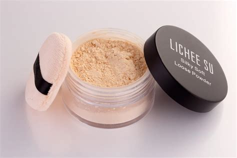 Jeinepin Cotton Puff Powder free shippin wear mineral rich powder with cotton puff base makeup for care