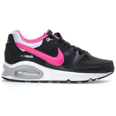 Nike Airmax One Pink Black nike nike youths air max command trainers black pink