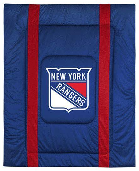new york rangers bedroom nhl new york rangers queen comforter sidelines hockey bed