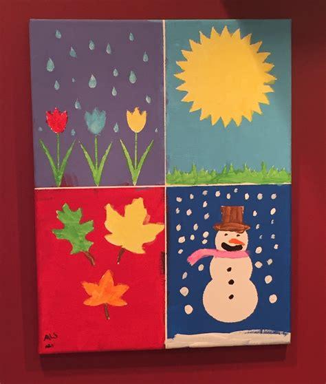 ideas ks2 christmas concerts diy canvas painting for kids four seasons wall art custom