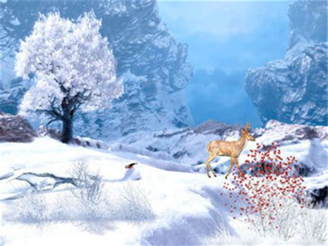t 233 l 233 charger winter afternoon animated wallpaper gratuit