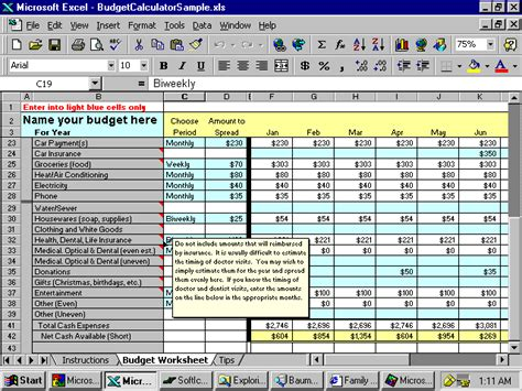 Excel Spreadsheet For Budget Household by 7 Excel Spreadsheet Household Budget Excel Spreadsheets