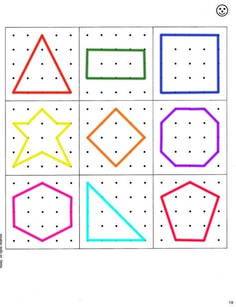 pattern online games 1st grade geoboard pattern for busy bags geometry pinterest