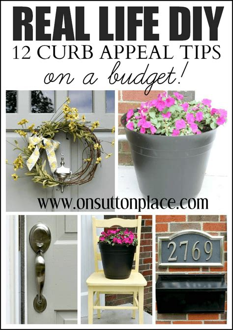 A Place Budget 12 Diy Curb Appeal Tips On A Budget On Sutton Place