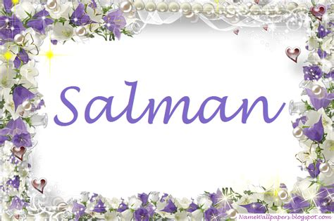 Download salman name wallpaper hd gallery