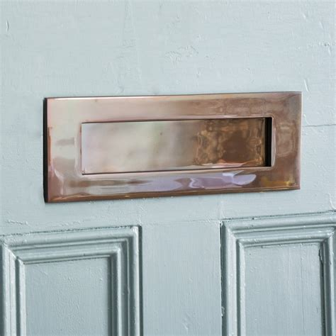 Front Door Furniture Uk Bronze Letterplate