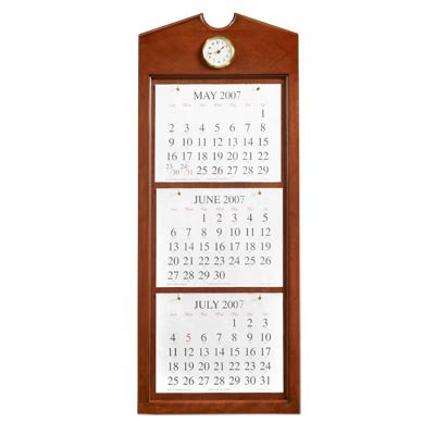 UNICOR Shopping: Symphony/Baritone Wall Calendar Holder
