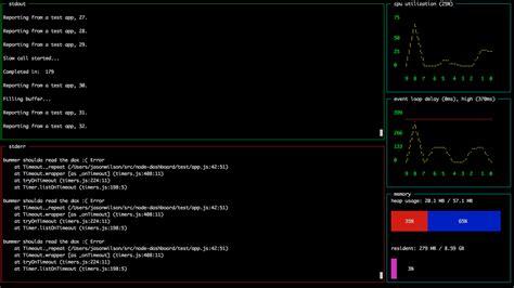 module pattern node js 用于node js应用的在终端的遥测仪表板 node js开发社区 ctolib码库